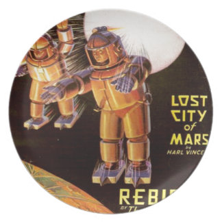 Big Chunky Spacesuits Plate