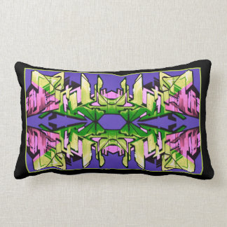 Big City Reflections Lumbar Pillow