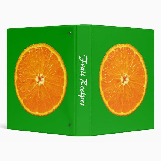 Big Clementine - Green Vinyl Binder