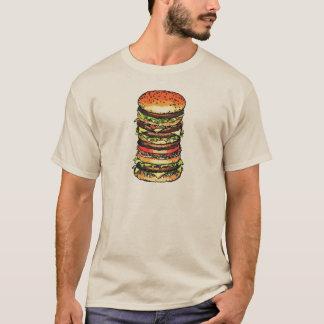 Big, colorful hamburger T-Shirt