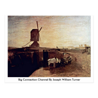 Big Connection Channel By Joseph William Turner Postcard