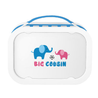 Big Cousin Elephant soccer Lunchboxes