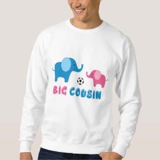 Big Cousin Elephant soccer Sweatshirt