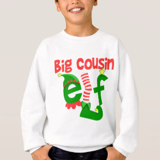 Big Cousin Elf Christmas Sweatshirt