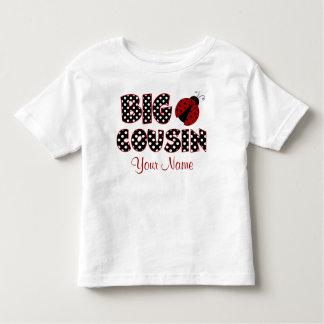 Big Cousin Ladybug Personalized Shirt