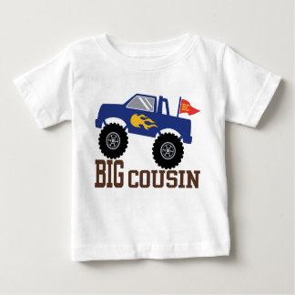 Big Cousin Monster Truck Baby T-Shirt