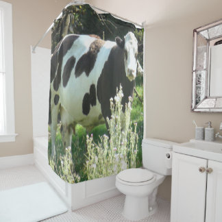 Big Cow from Wisconsin Shower Curtain