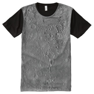 Big Craters Surface Planet Moon All-Over-Print T-Shirt