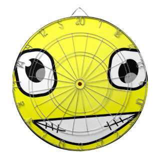 Big Crazy Smile Dartboard