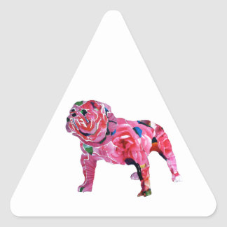 """Big Daddy"" by Axel Bottenberg Triangle Sticker"