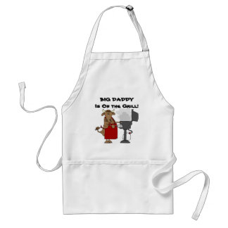Big Daddy is On The Grill! Standard Apron