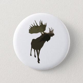 Big Daddy Moose 2 Inch Round Button
