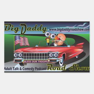 Big Daddy Road Show Podcast Stickers! Sticker