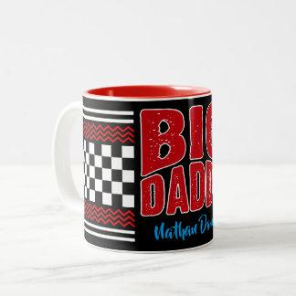 Big Daddy (Your Name) Two-Tone Coffee Mug