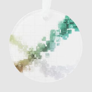 Big Data Visualization Analytics Technology Ornament