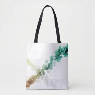 Big Data Visualization Analytics Technology Tote Bag