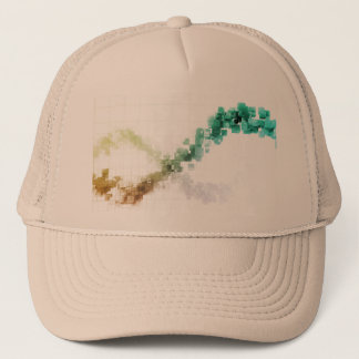 Big Data Visualization Analytics Technology Trucker Hat