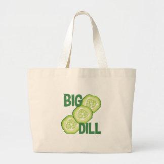 Big Dill Large Tote Bag