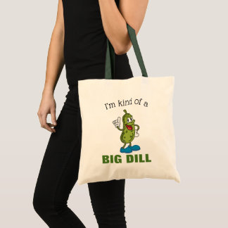 Big Dill Pickle Pun Budget Tote