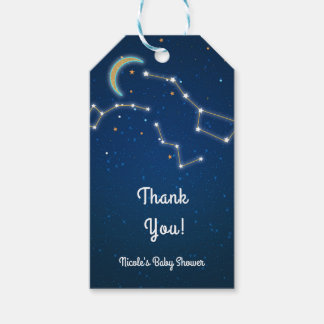 Big Dipper Star Gazing Constellation Celestial Gift Tags