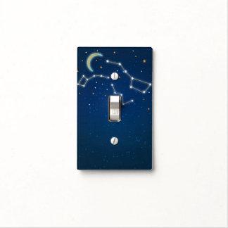 Big Dipper Star Gazing Constellation Celestial Light Switch Cover