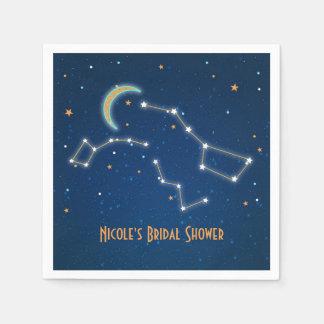 Big Dipper Star Gazing Constellation Celestial Napkin