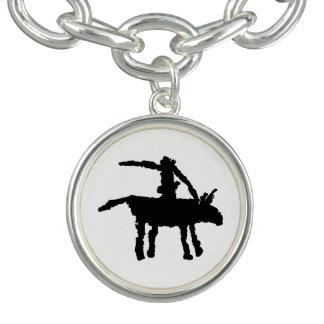 Big Dog,  Arroyo Segundo, Texas Charm Bracelets