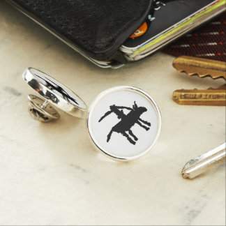 Big Dog,  Arroyo Segundo, Texas Lapel Pin