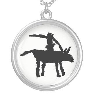 Big Dog Arroyo Segundo, Texas Silver Plated Necklace