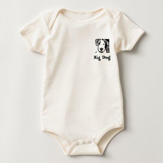 Big Dog Baby Tee! Baby Bodysuit