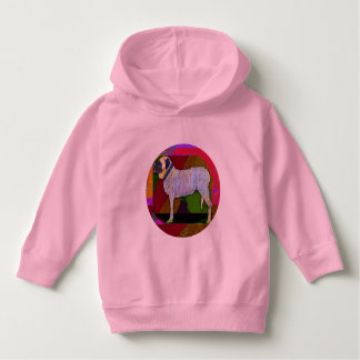 Big Dog Pink Hoodie Toddler