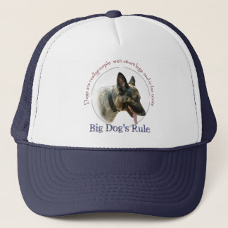 Big Dogs Rule Trucker Hat