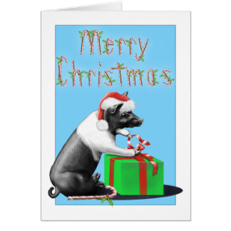 Big Duke's Christmas Card
