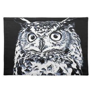 Big Ear Owl Art Placemat