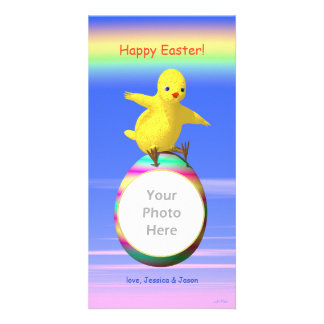 Big Easter Chicken Wings Photo Greeting Card