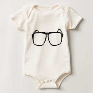 Big Eye Glasses Baby Bodysuit