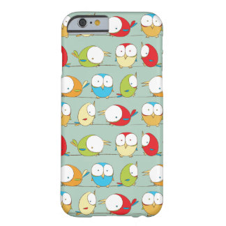 Big Eyed Birds on a Line Pattern Phone Case
