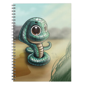 Big-Eyed Cobra Cutie Photo Notebook (80 Pages B&W)