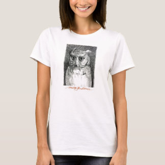 Big Eyed Owl Woman's Tee! T-Shirt