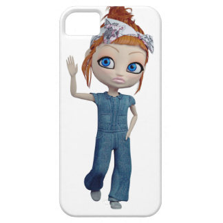 Big eyes doll Blue iPhone 5 Covers