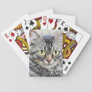 Big eyes poker deck