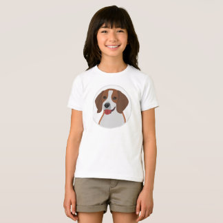 Big face beagle dog T-Shirt