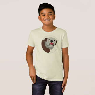 Big face Bulldog, dog T-Shirt