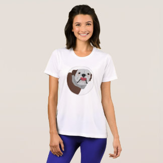Big face Bulldog, dog T-Shirt
