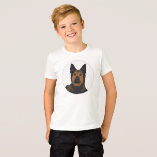 Big face German Shepherd, dog T-Shirt