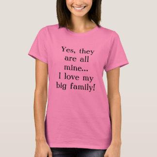Big Family...All mine Tshirt