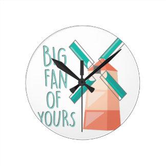 Big Fan Clocks