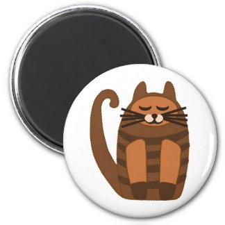 big fat cat rufus magnet