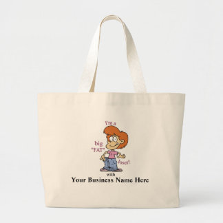 "Big ""Fat"" Loser Tote Bag - Customizeable"