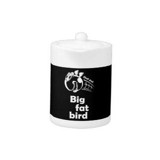 Big fat shot put bird